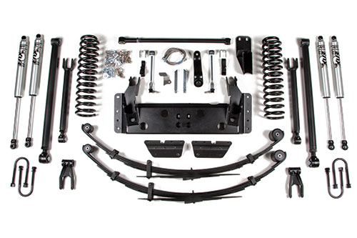 Jeep XJ 6.5in Front Coil Kit BDS Suspension