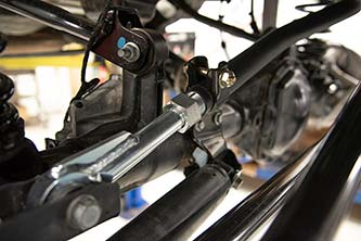 HD Front Adjustable Track Bar Kit for Jeep JL/JT Installed