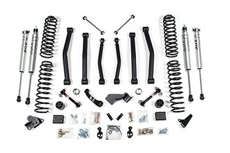 "4-1/2"" Suspension Lift Kit - Jeep Wrangler JK 4dr"