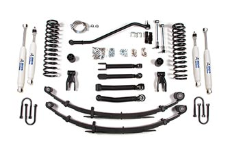"4-1/2"" 4WD Jeep Cherokee XJ Coil Spring System"