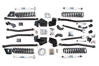 "6.5"" Long Arm Lift Kit - Jeep JK"